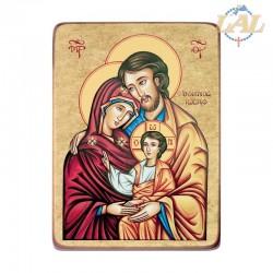 Icona tela su legno cm. 20x25