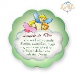 Quadro mdf Angeli fiore...