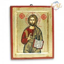 Icona Greca in legno e...