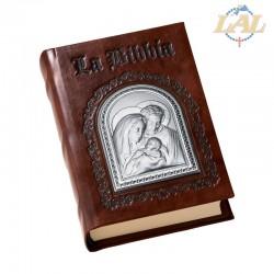 La Santa Bibbia in pelle...