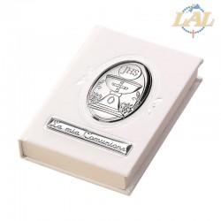 Vangelo grande con placca argento Comunione