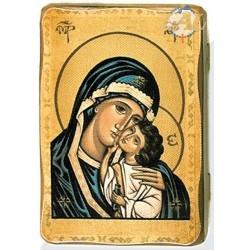 copy of Icona tela su legno...